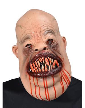 Máscara de psicópata caníbal para adulto