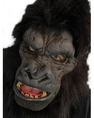 Gorilla Alfa Maske für Erwachsene