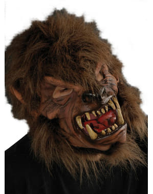Adult's Brown Werewolf Mask