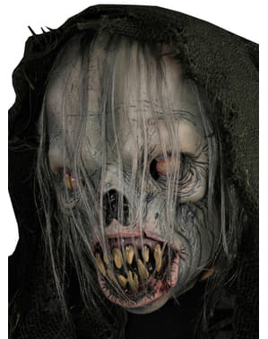 Spøkelse Alien Maske med Hette Voksen