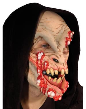 Máscara de monstruo del acné para adulto