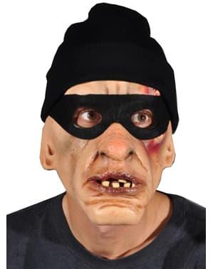 Máscara de ladrão rouba fortunas para adulto