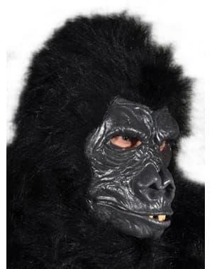 Máscara de gorila peludo para adulto