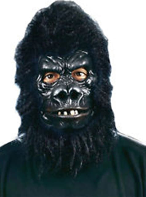 Máscara de gorila peludo para adulto - para tu disfraz