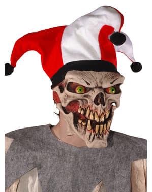 Evil Harlequin Mask for Adults