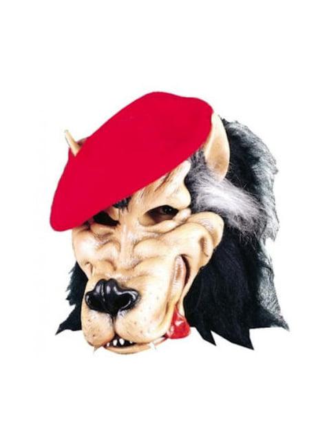 Máscara de lobo malo para adulto - para tu disfraz