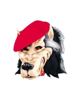 Maska zły wilk dla dorosłego