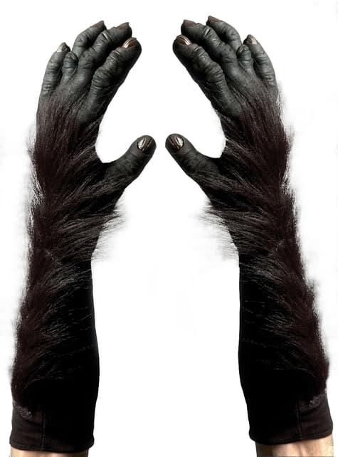 Guantes de gorila para adulto