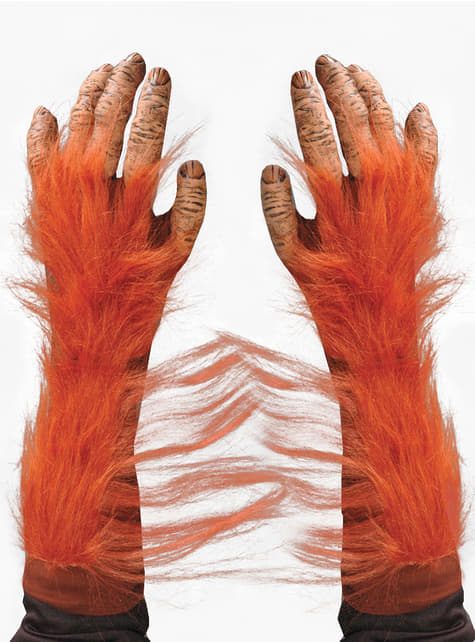 Adult's Orangutan Hands