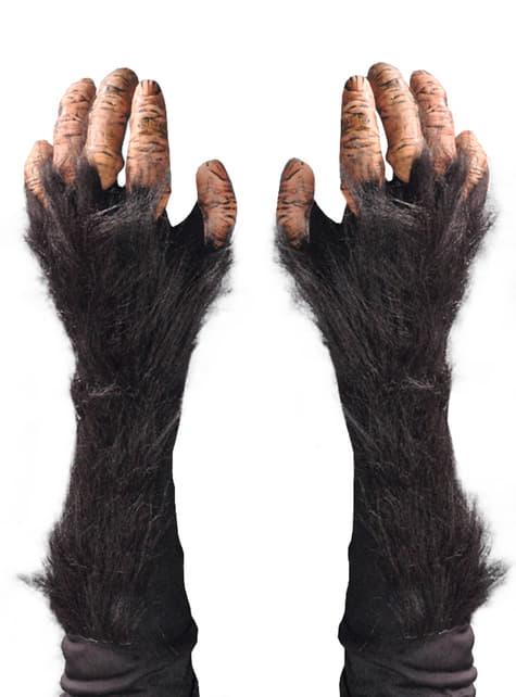 Manos de chimpancé para adulto