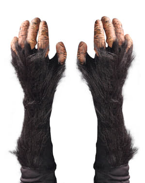 Rukavice pro dospělé šimpanzí ruce