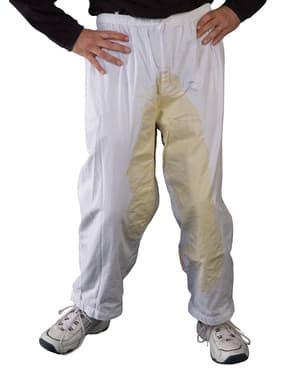 Spodnie z plamami mocz & kupa