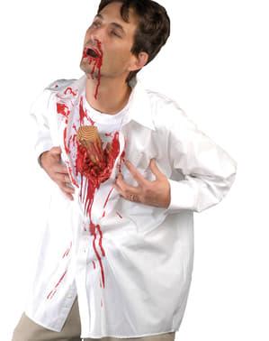 Tricou de vampir înjunghiat pentru adult