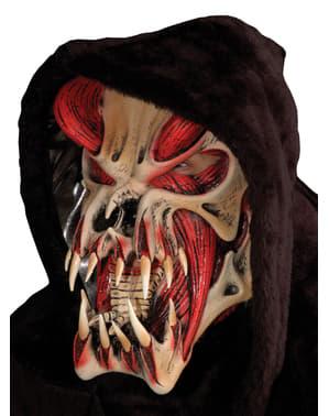 Máscara de extraterrestre terrorífico para adulto