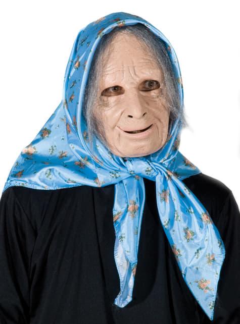 Máscara de abuela adorable para adulto