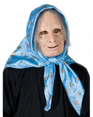 Entzückende Oma Maske für Erwachsene