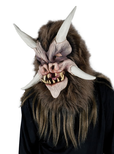 Máscara de bestia del inframundo para adulto