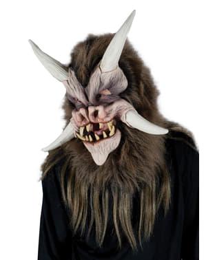 Máscara de besta do infra mundo para adulto