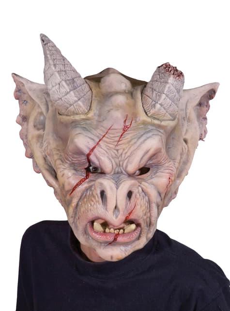 Máscara de gárgola para adulto