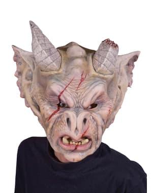 Máscara de gárgula para adulto