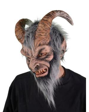 Krampus Maske für Erwachsene