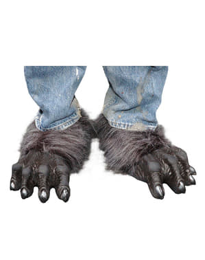 Adult's Werewolf Feet