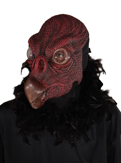 Máscara de buitre carroñero para adulto
