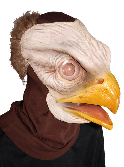Máscara de águila americana para adulto