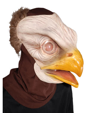 Máscara de águia blêizer para adulto