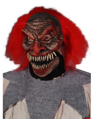 Máscara de payaso maquiavélico para adulto