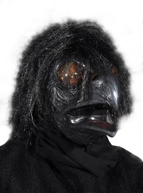 アダルトブラッククロウマスク