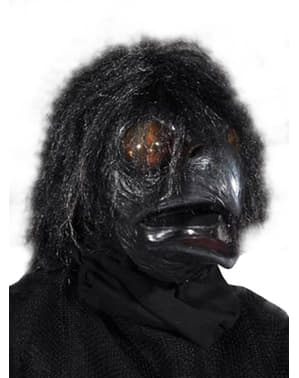 Raben Maske schwarz für Erwachsene