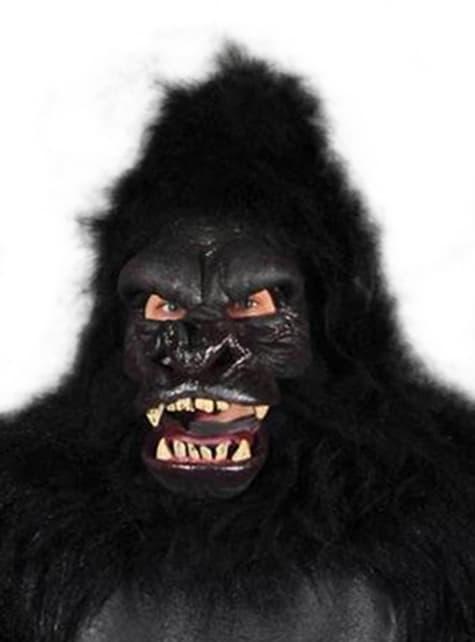 Máscara de simio agresivo para adulto