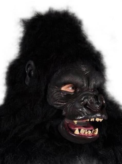 Máscara de simio agresivo para adulto - para tu disfraz