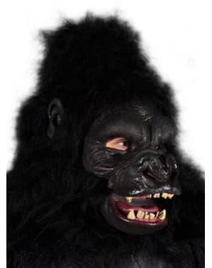 Aikuisten aggressiivinen apinanaamio