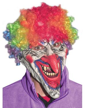 Schaurige Clown Maske für Erwachsene