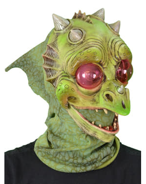 Máscara de dragón bebé para adulto