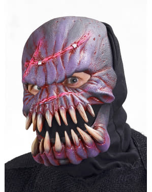 Alien med Knuste Bein Maske Voksen