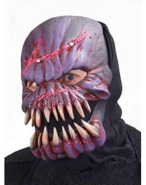 Máscara de alien esqueleto para adulto