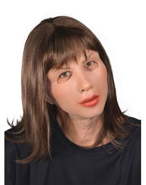 Máscara de mujer seductora