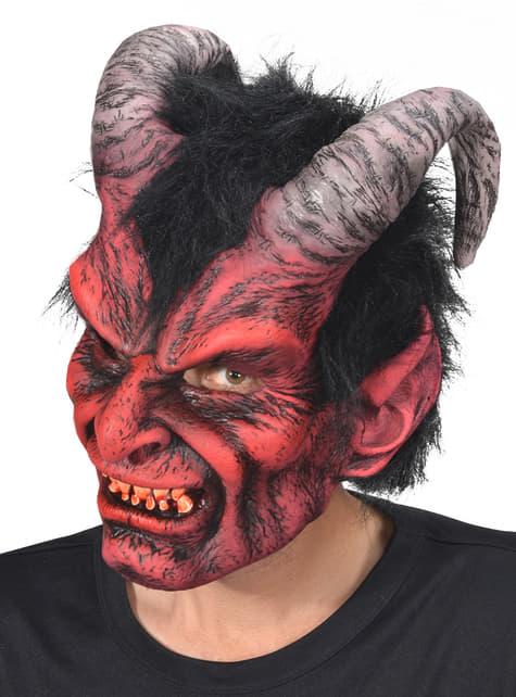 Máscara de Lucifer para adulto