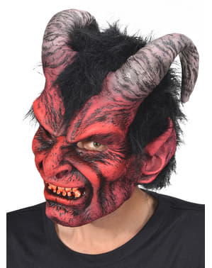 Maschera da Lucifero per adulto