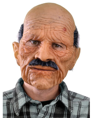 Old Man Mask for Adults