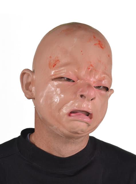 Máscara de bebé recién nacido para adulto