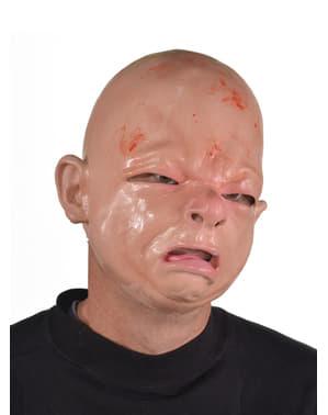 Máscara de bebé recém-nascido para adulto
