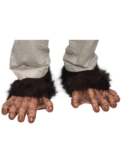 Stopy szympansa dla dorosłego