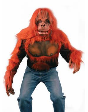 T-shirt de orangotango para adulto