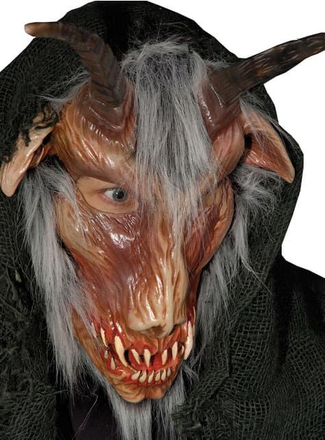 Máscara de cabra infernal para adulto