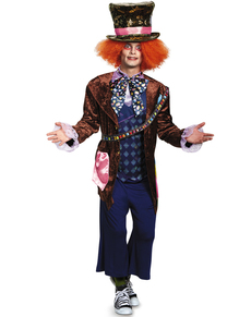 Man's Mad Hatter Alice Through the Looking Glass Costume