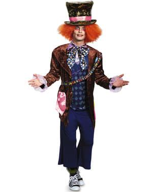 Costum Pălărierul Nebun Alice în Țara Oglinzilor pentru bărbat
